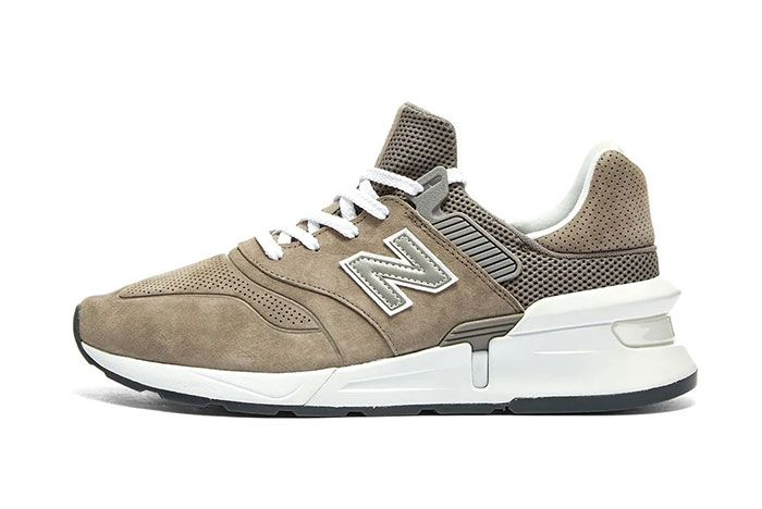 Commes Des Garcon New Balance Ms997 Brown Side1