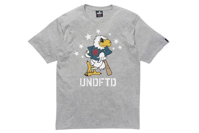 Undefeated Shirt Eagle Undftd Grey Heather 1