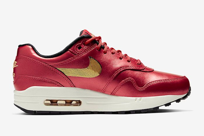 Nike Air Max 1 Gold Sequins Right