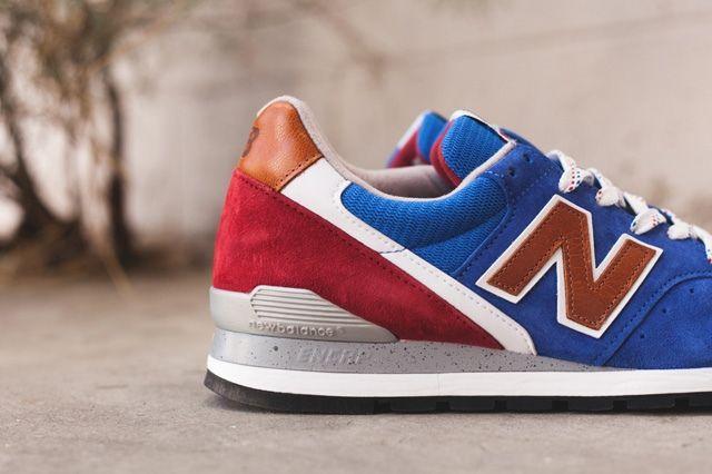 New Balance 996 Brown Blue 1
