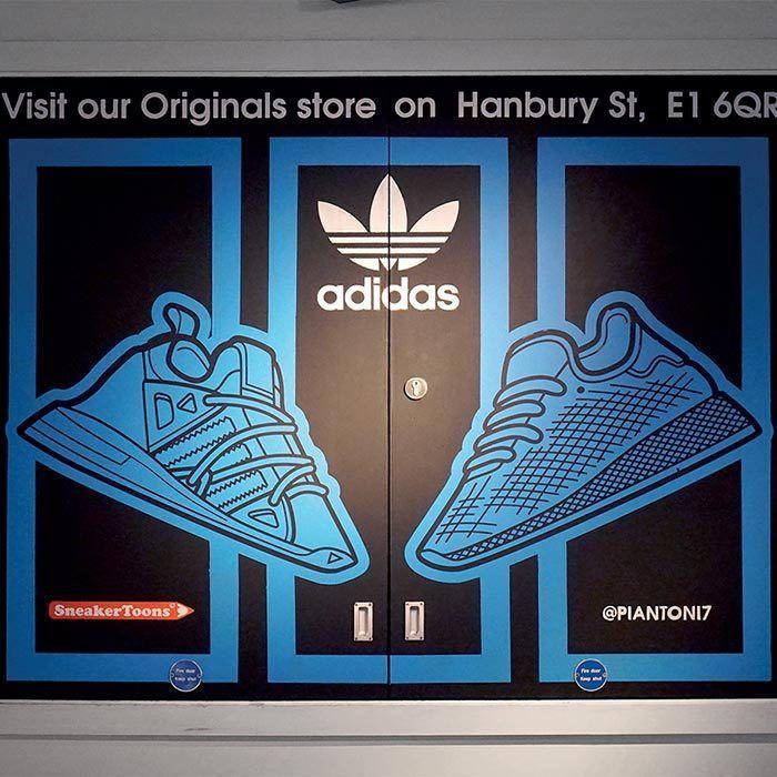 Sneaker Toons Visit Adidas 735