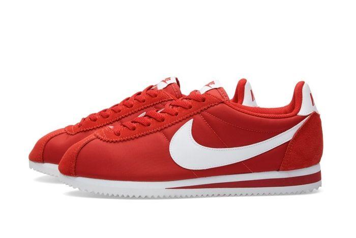 Nike Cortez Nylon Gym Red 3