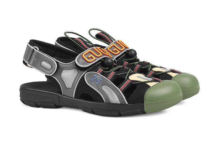 Gucci Sneaker Sandal Hybrid Black Side