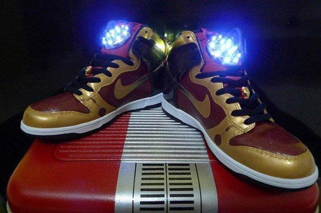 Nike Iron Man Dunks (Customs) - Sneaker