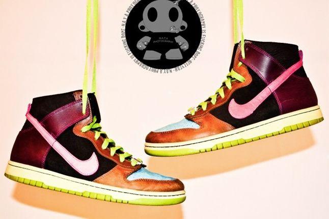 Nike Dunk High Multi Colour 1
