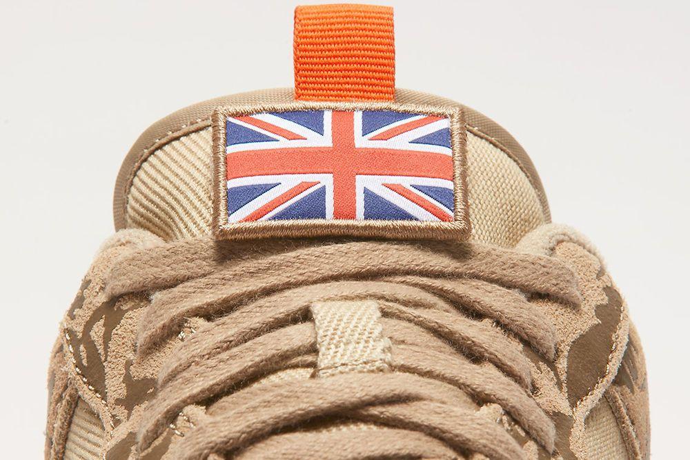 Nike Air Force 1 English Camo Flag