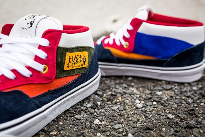 Vans Year Of The Monkey Half Cab Multi Suede Leather 7