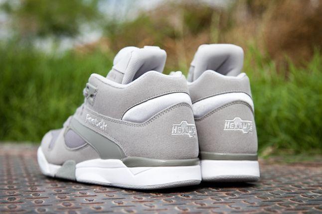 Reebok Court Victory Pump Grey Heels 1