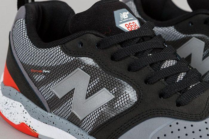 New Balance Numeric 868 Grey Black 5