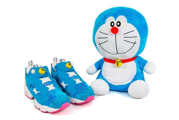 Atmos X Packer X Reebok Instapump Fury Doraemon 2