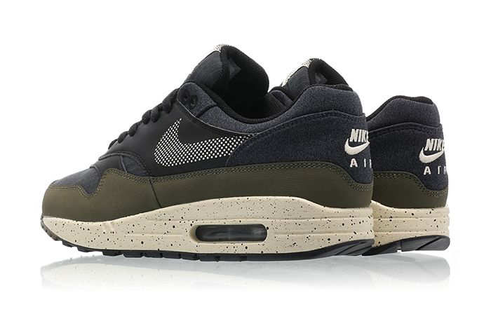 Nike Air Max 1 Se Medium Olive Light Cream Black 3