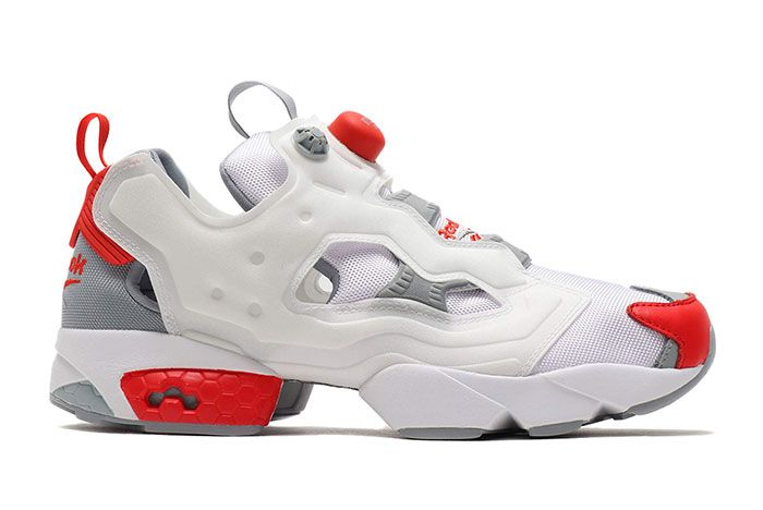 Reebok Instapump Fury 25Th Anniversary White Red