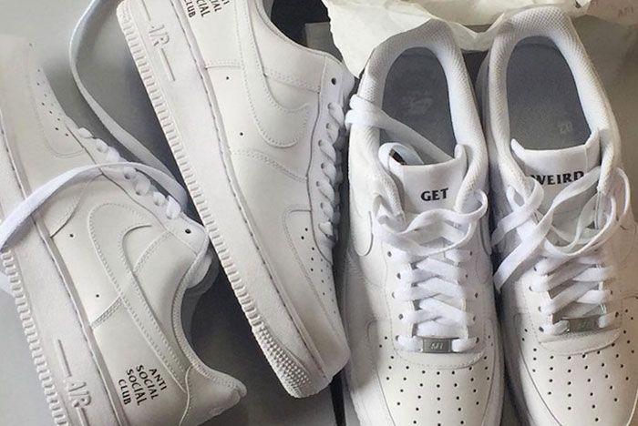 Anti Social Social Club X Nike Air Force 1 3