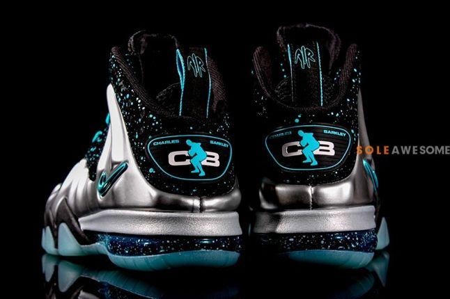 Nike Barkley Posite Max Pure Platinum Heel Profile 1