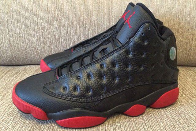 Air Jordan 13 Black Red 2