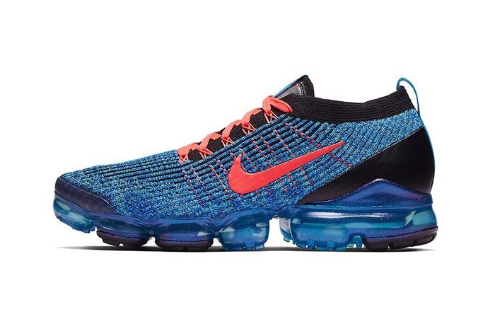 Nike Air Vapormax Flyknit 3 Blue Fury Lateral