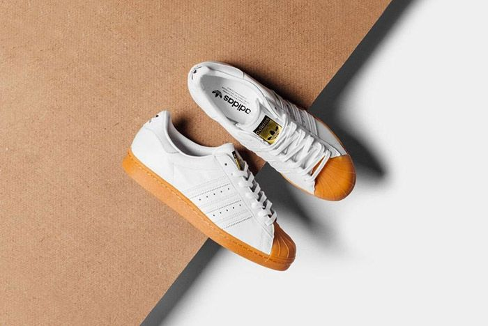 Adidas Originals Superstar 80 S Dlx White Gum 1
