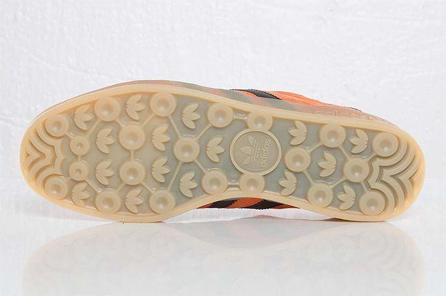 Orange Adidas Gazelle Indoor Sole 1