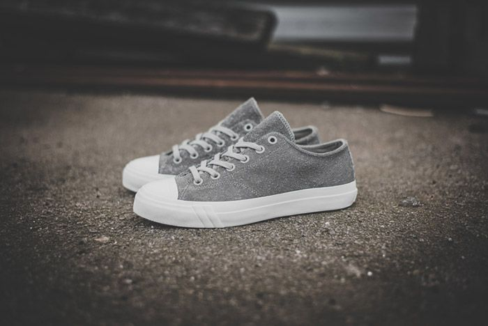 Pro Keds Royal Low Hairy Suede Grey 12