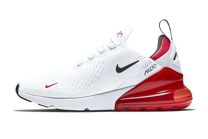 Nike Air Max 270 White Black University Red 1
