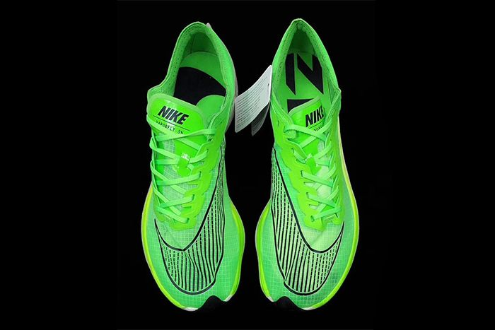 Nike Vaporfly 5 Percent Green First Look Top Down