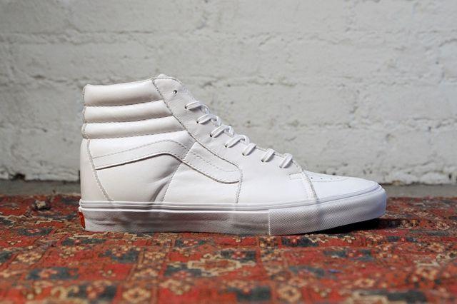 Vans Vault All White Basics Pack 3