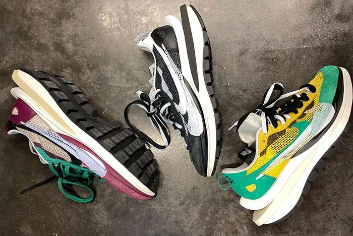 Michael Lamjc Sacai Nike Vaporwaffle Collection