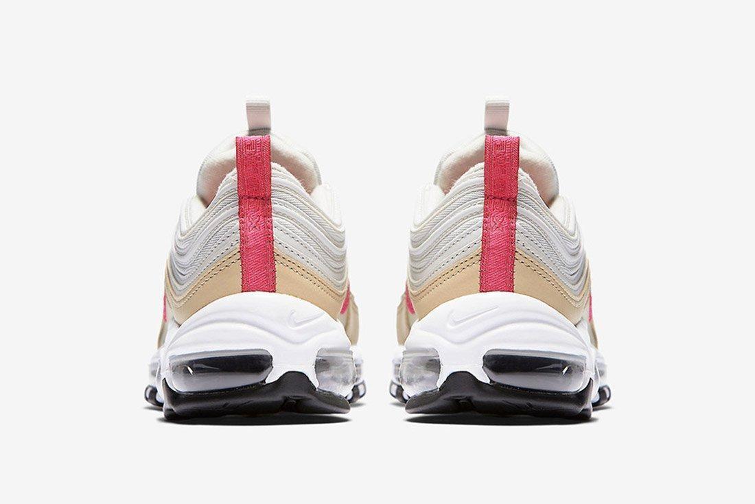 Nike Air Max 97 White Tan Neon 3