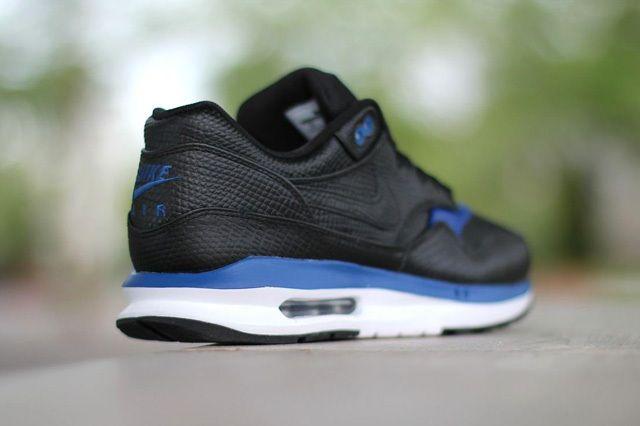 Nike Air Max Lunar1 Deluxe Black Gym Blue 1