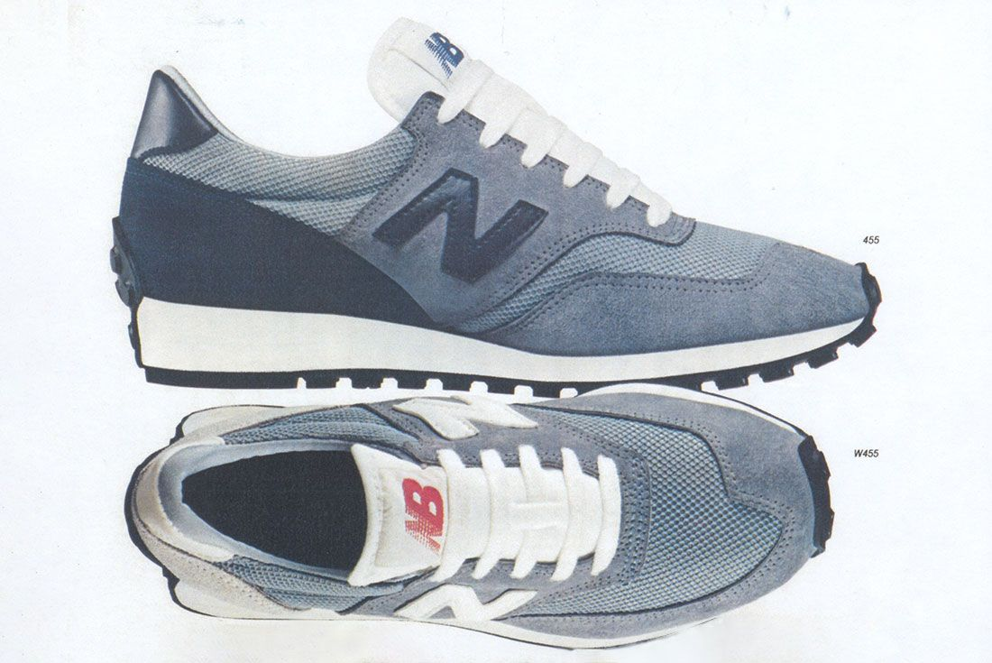 New Balance Trail 455 Vintage Catalogue Scan