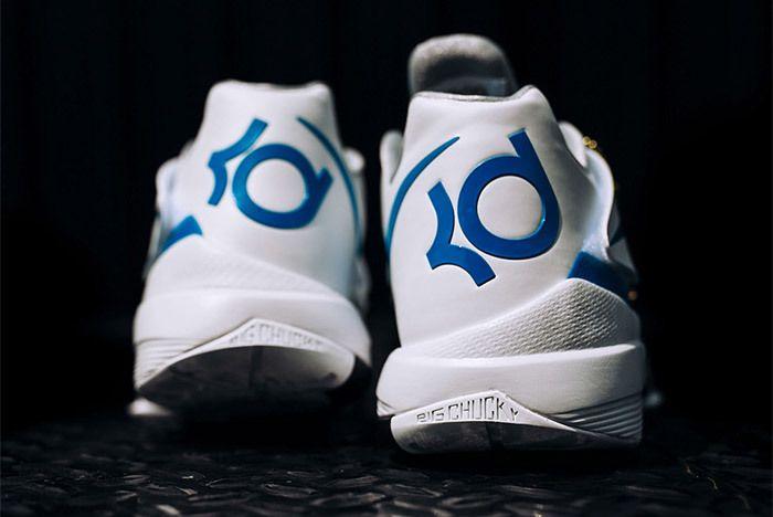 Nike Kd 4 White Blue Art Of A Champion 6