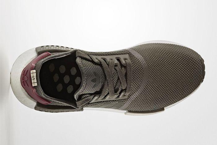 Adidas Nmd R1 Olive Maroon3