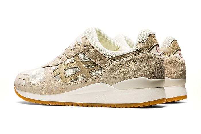 Asics Gel Lyte 3 Ivory Back Quarter