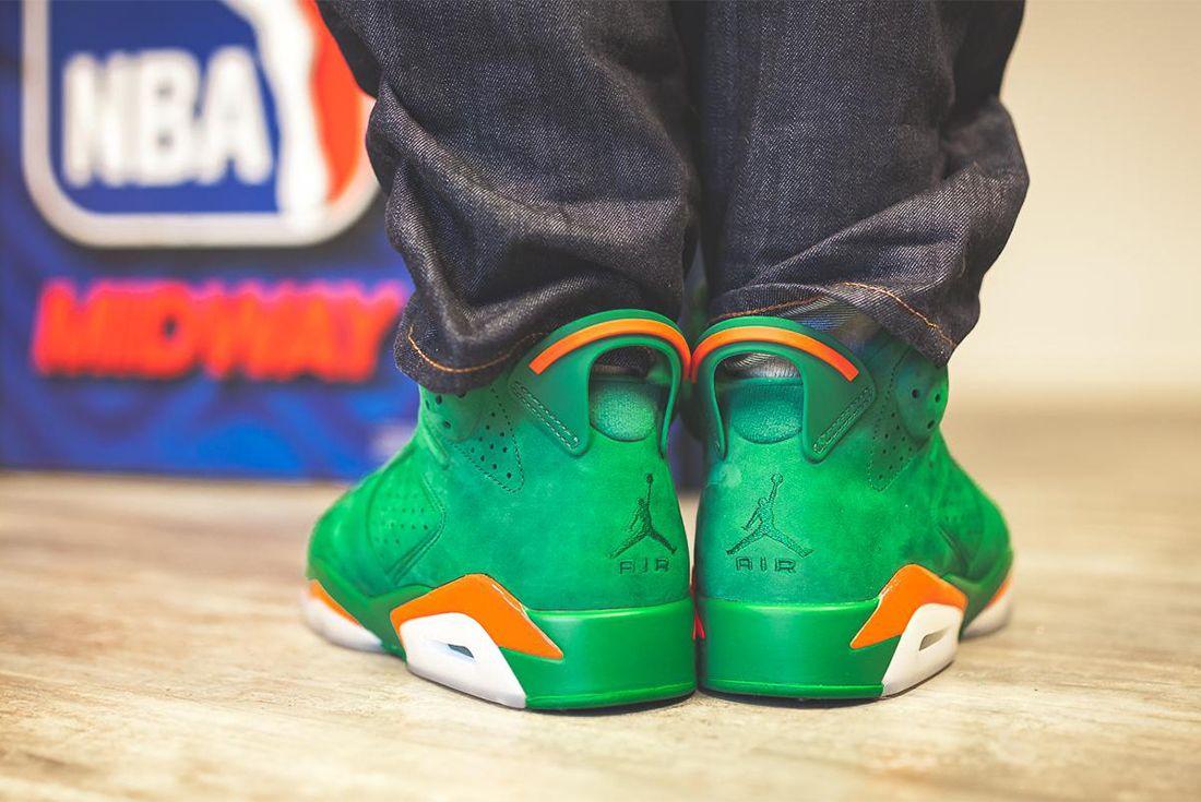Gatorade X Air Jordan 6 Pine Green Release Date Sneaker Freaker 5