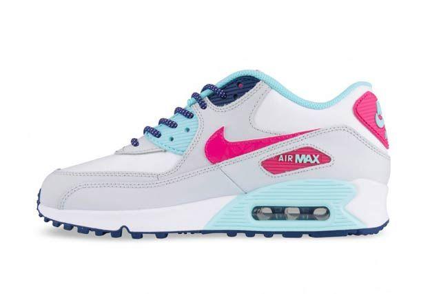Nike Air Max 90 Gs Vivid Pink3