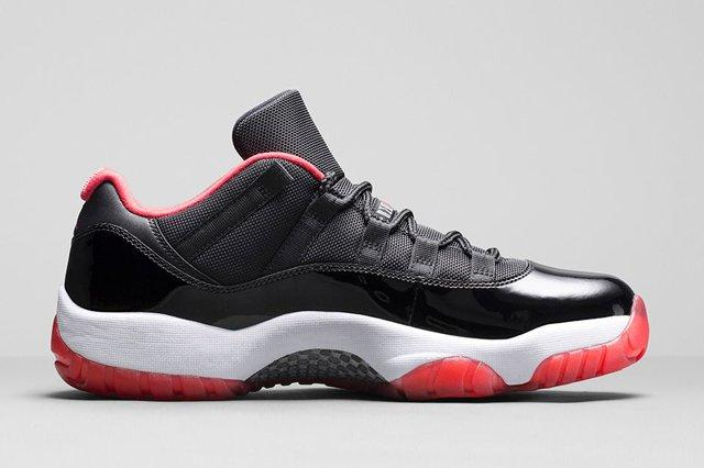 Air Jordan 11 Low Bred Bumper 3