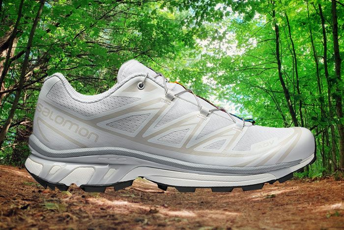 Salomon Xt 6 Adv Ltd White Lateral