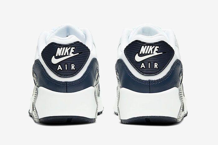 Nike Air Max 90 Obsidian Cd6864 105 Heel