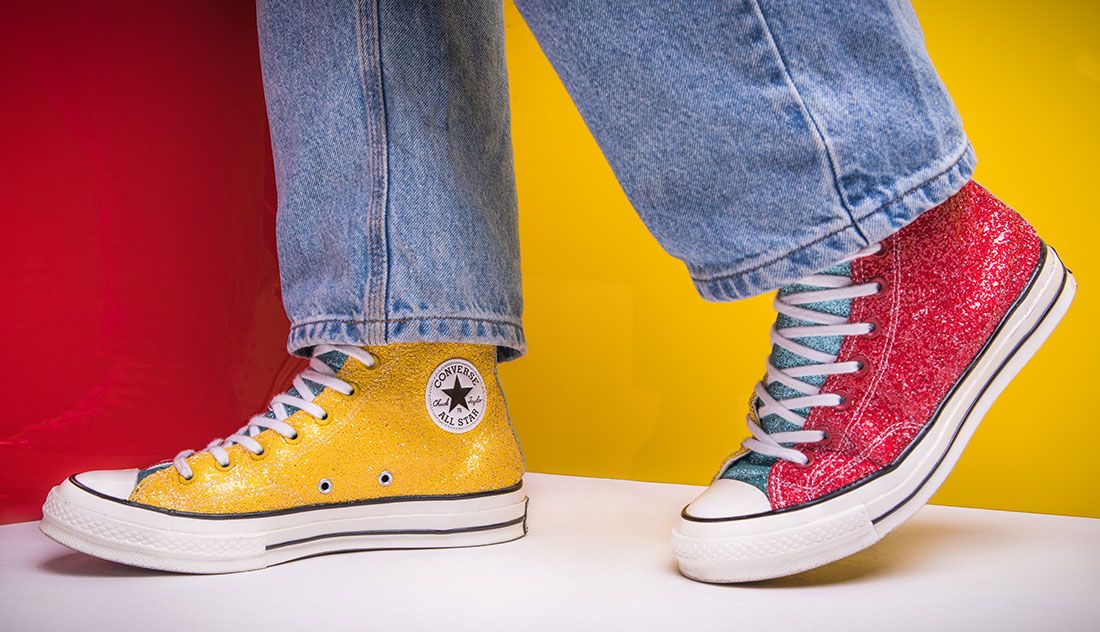 Jw Anderson Converse Chuck Taylor All Star High Glitter