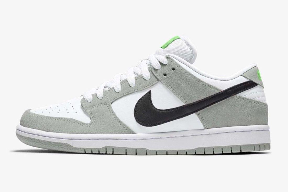 Leaked: Nike SB Dunk Low 'Chlorophyll' Rumoured for 2021 - Sneaker ...
