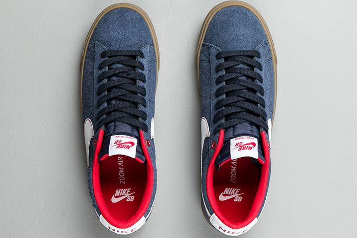 Nike Sb Blazer Low Gt Obsidian 2