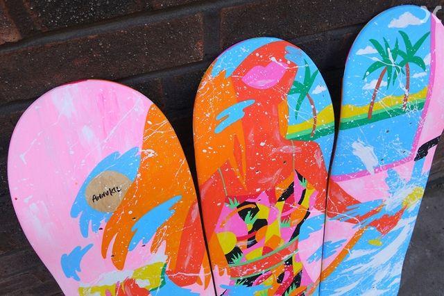 Skateboard Deck Chair 12