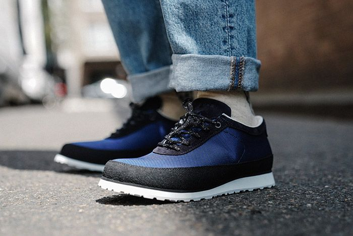 Tarvas Explorer Blue On Foot Front Angle