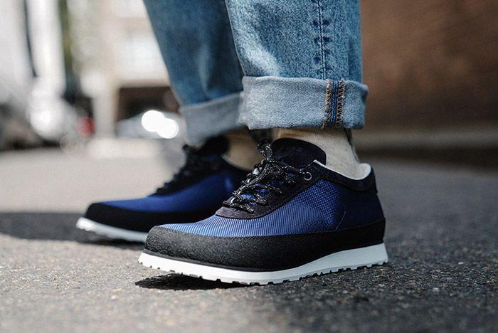 Tarvas Explorer Blue On Foot Front Angle