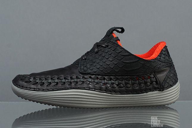 Nike Solarsoft Moc Woven Prm Black Challenge Red Profile 1