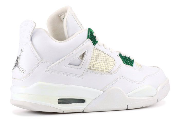 Air Jordan 4 Pine Green Heel