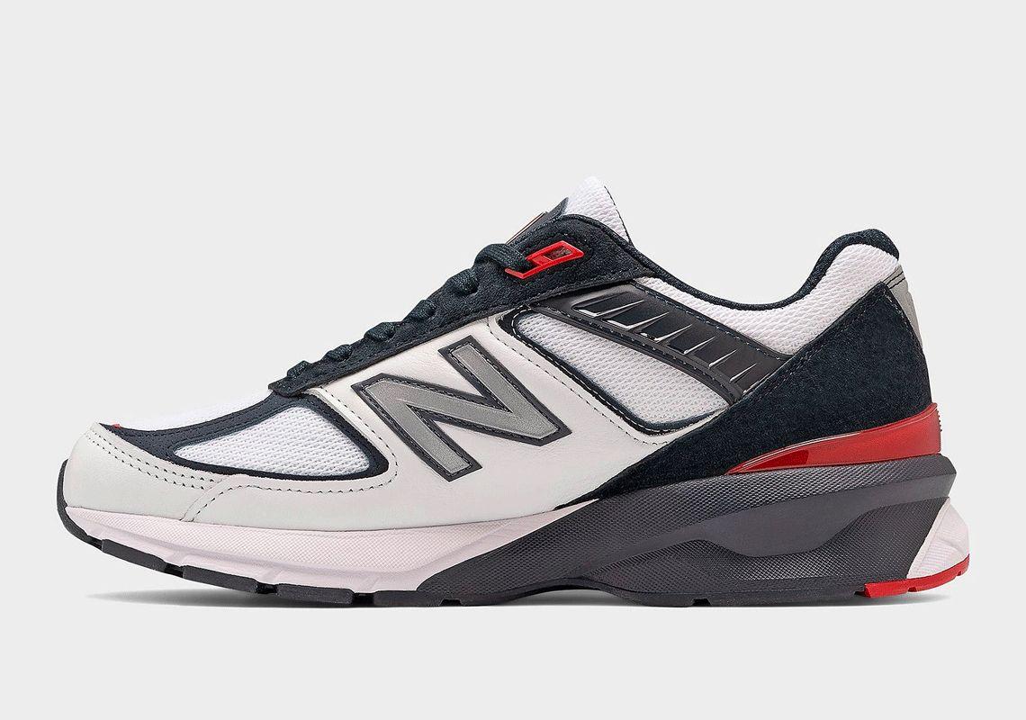 New Balance 990v5 Team Red