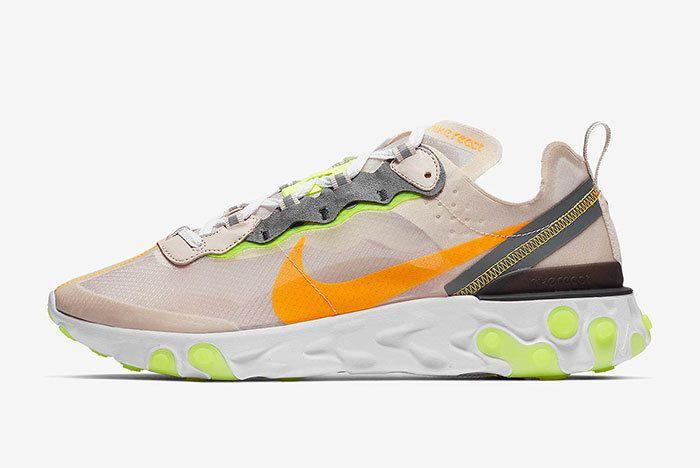 Nike React Element 87 Orewood Brown 1