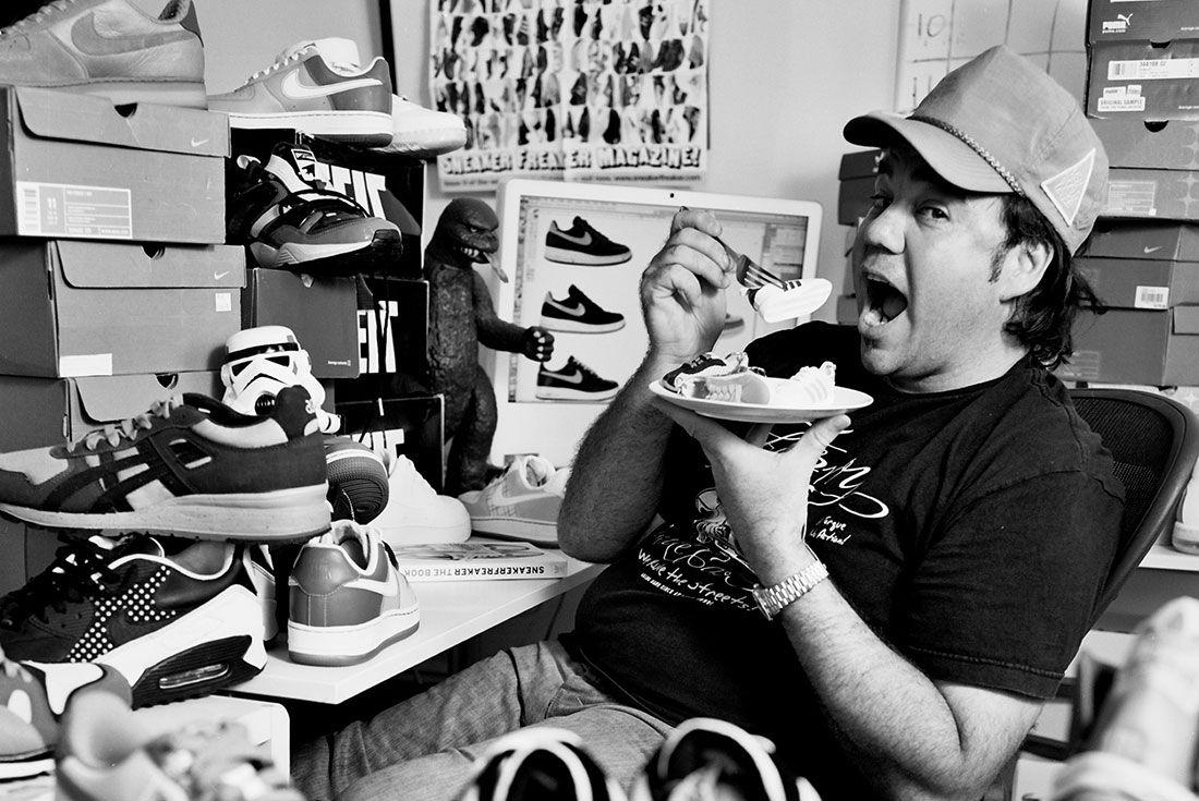 Sneakersbe Founder Woody Portrait