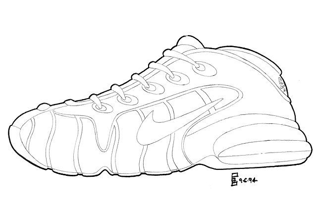 The Making Of The Nike Air Penny 5 1